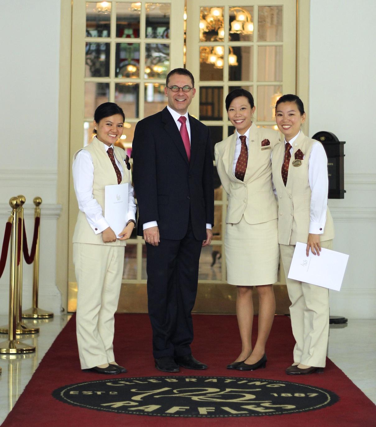 Gallery heilbron hospitality for Spa uniform singapore